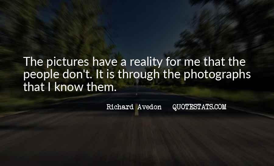 Richard Avedon Quotes #299569