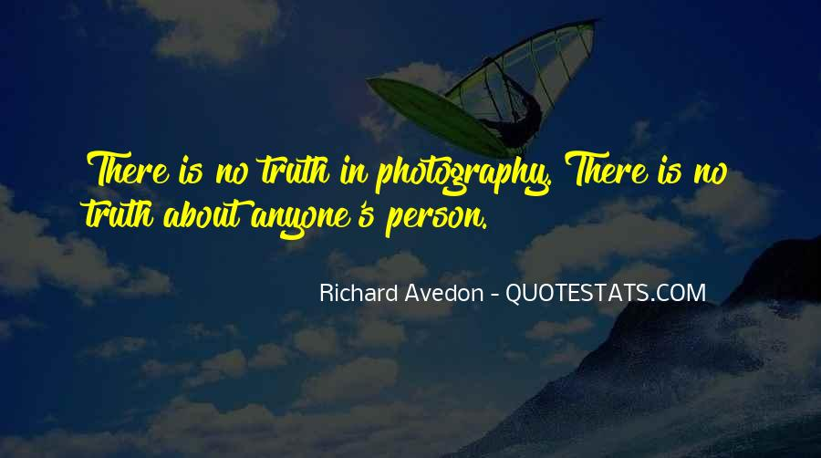 Richard Avedon Quotes #339112