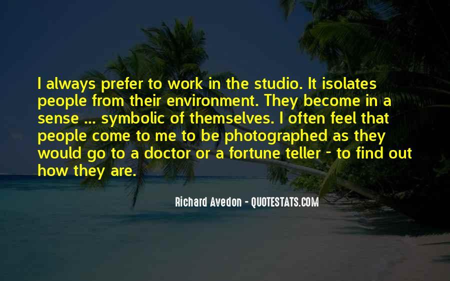 Richard Avedon Quotes #453564