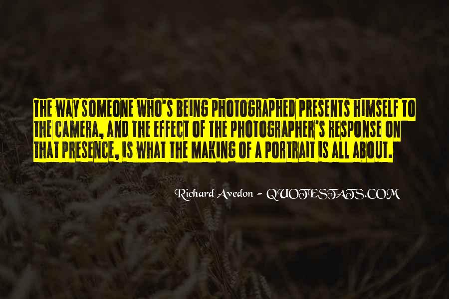 Richard Avedon Quotes #471890
