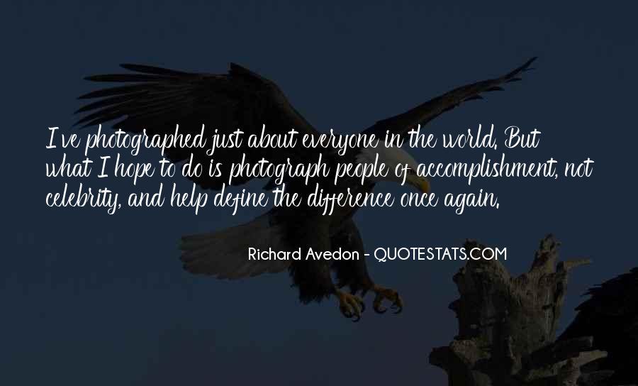 Richard Avedon Quotes #593175
