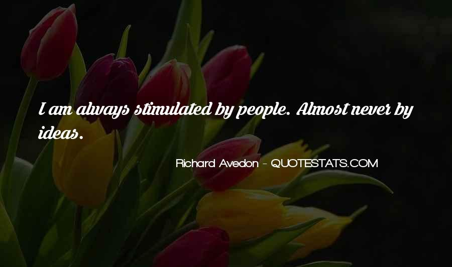 Richard Avedon Quotes #644981