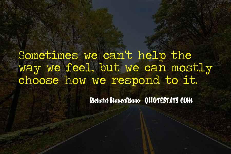 Richard Brancatisano Quotes #1434200
