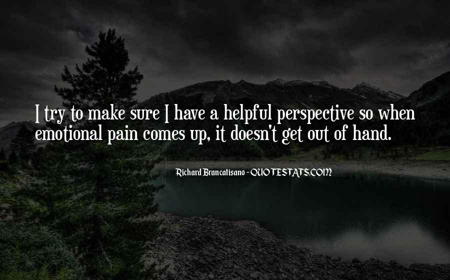 Richard Brancatisano Quotes #1677491