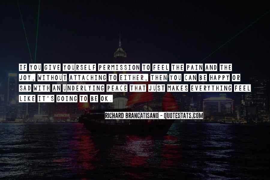 Richard Brancatisano Quotes #1865059