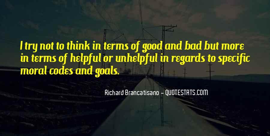 Richard Brancatisano Quotes #75758
