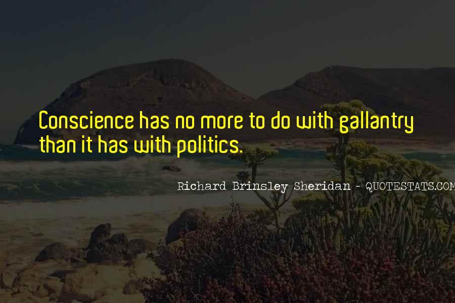 Richard Brinsley Sheridan Quotes #1000532