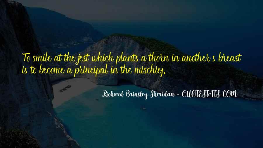 Richard Brinsley Sheridan Quotes #107688