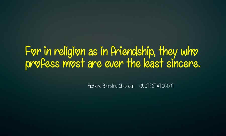 Richard Brinsley Sheridan Quotes #1077634