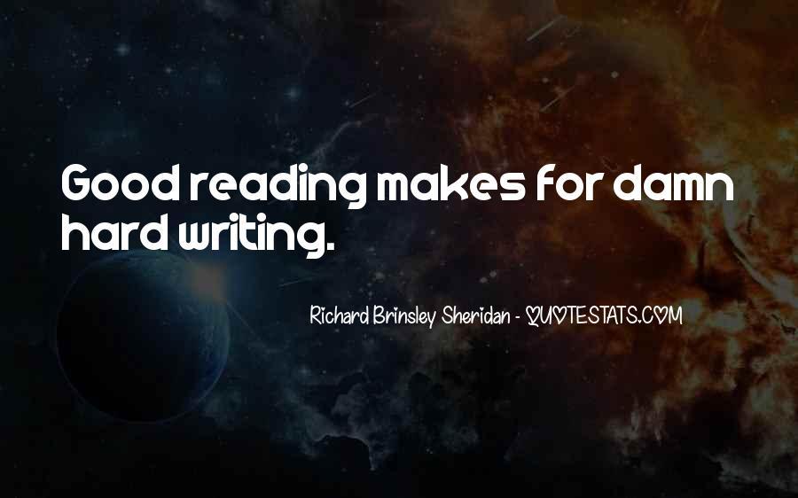 Richard Brinsley Sheridan Quotes #1144799