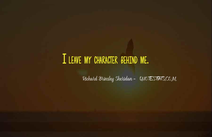 Richard Brinsley Sheridan Quotes #1149582