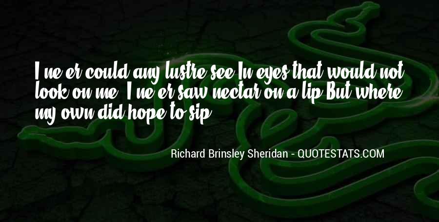 Richard Brinsley Sheridan Quotes #1259515