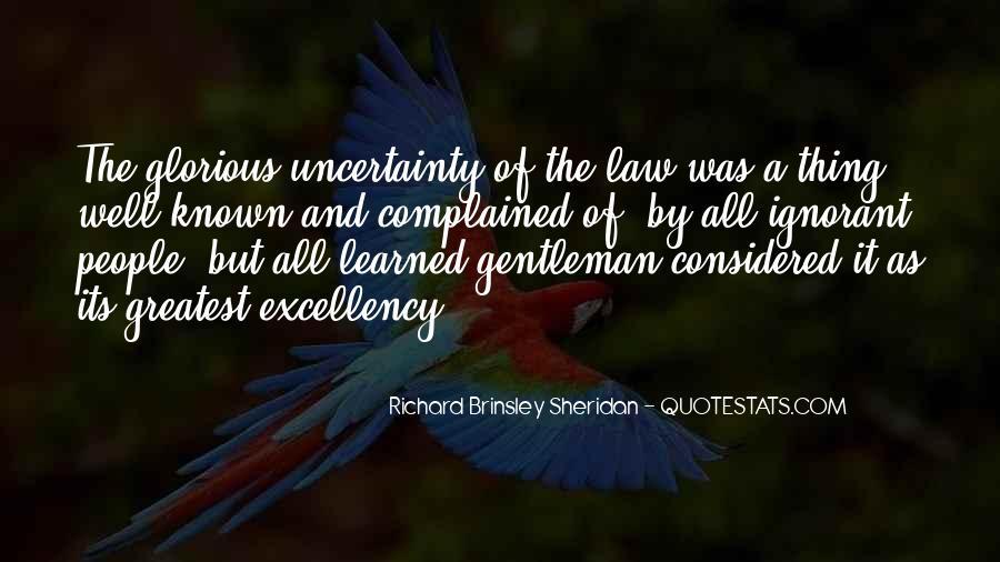 Richard Brinsley Sheridan Quotes #1333141