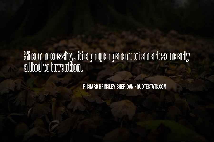 Richard Brinsley Sheridan Quotes #1453133