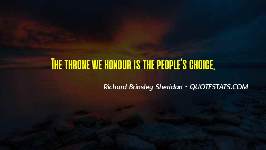 Richard Brinsley Sheridan Quotes #1483910