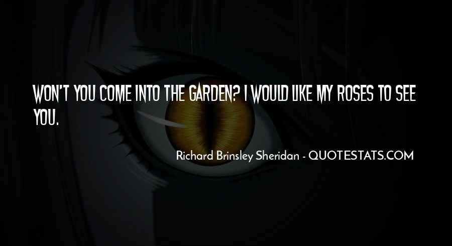 Richard Brinsley Sheridan Quotes #1496111