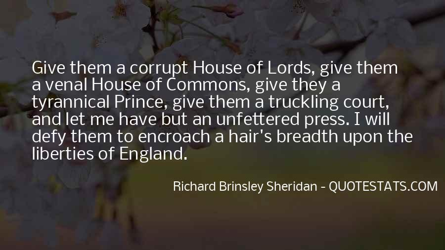 Richard Brinsley Sheridan Quotes #1524571