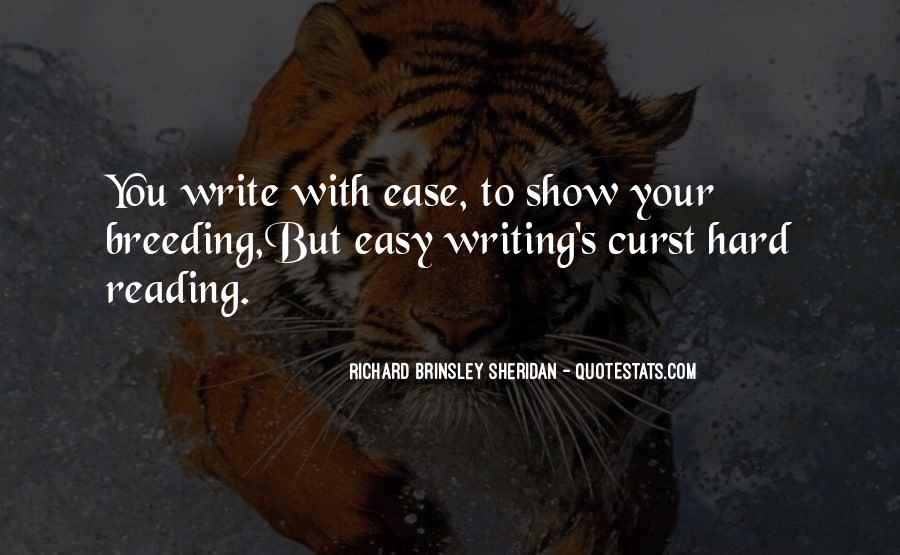 Richard Brinsley Sheridan Quotes #1543033