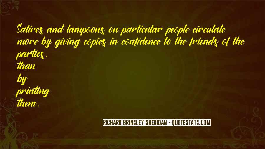 Richard Brinsley Sheridan Quotes #163764