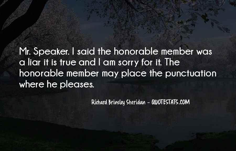 Richard Brinsley Sheridan Quotes #166615