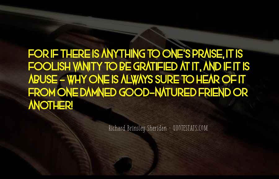 Richard Brinsley Sheridan Quotes #1716220