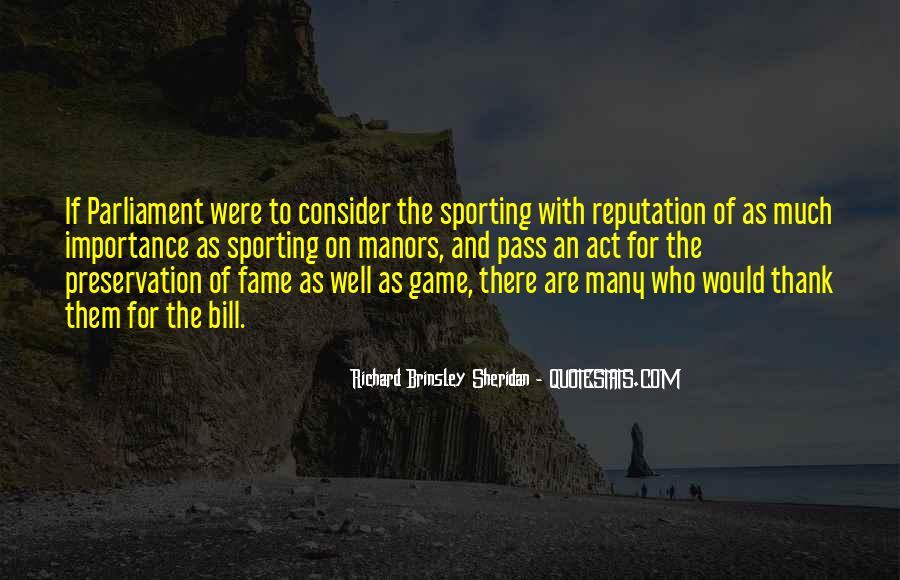 Richard Brinsley Sheridan Quotes #1795050