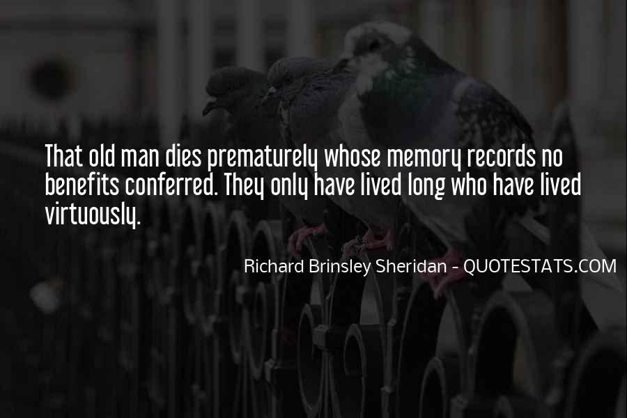 Richard Brinsley Sheridan Quotes #1807149