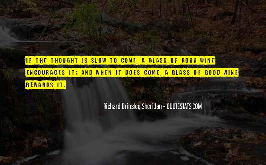 Richard Brinsley Sheridan Quotes #1877874
