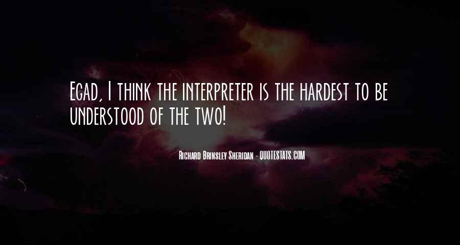 Richard Brinsley Sheridan Quotes #299571