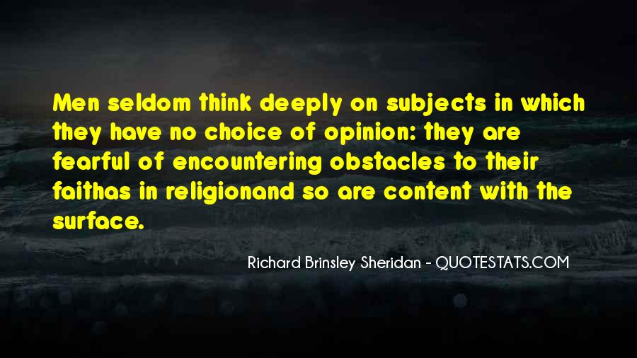 Richard Brinsley Sheridan Quotes #431532