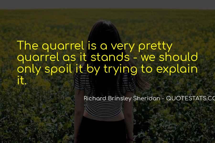 Richard Brinsley Sheridan Quotes #472556