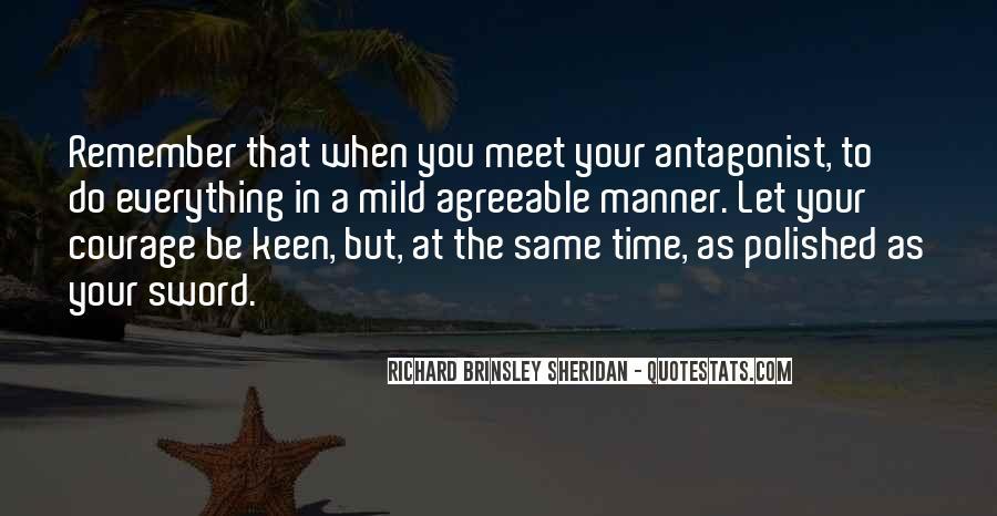 Richard Brinsley Sheridan Quotes #484581