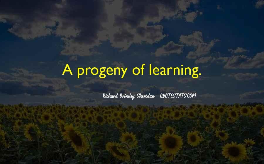 Richard Brinsley Sheridan Quotes #510792