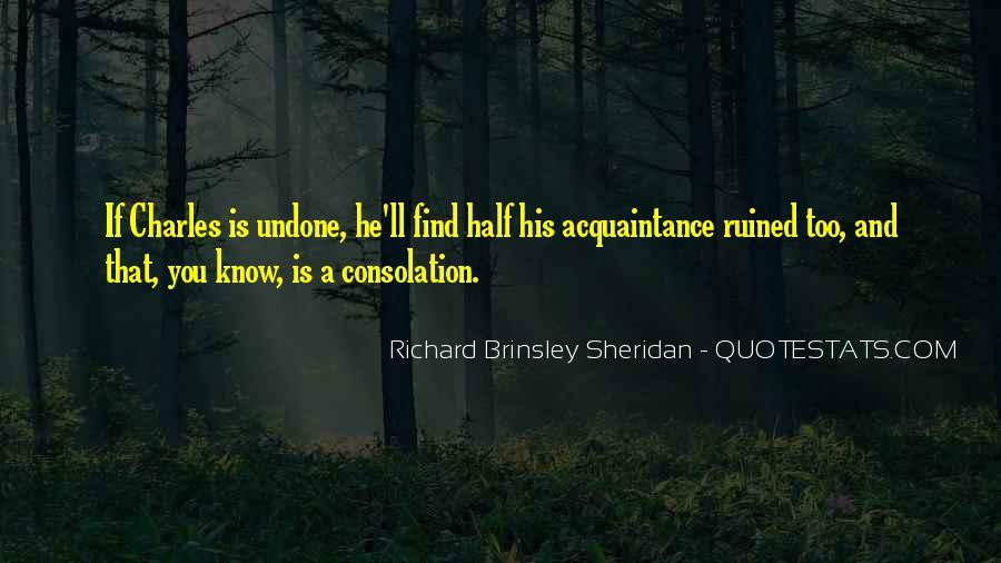 Richard Brinsley Sheridan Quotes #52606