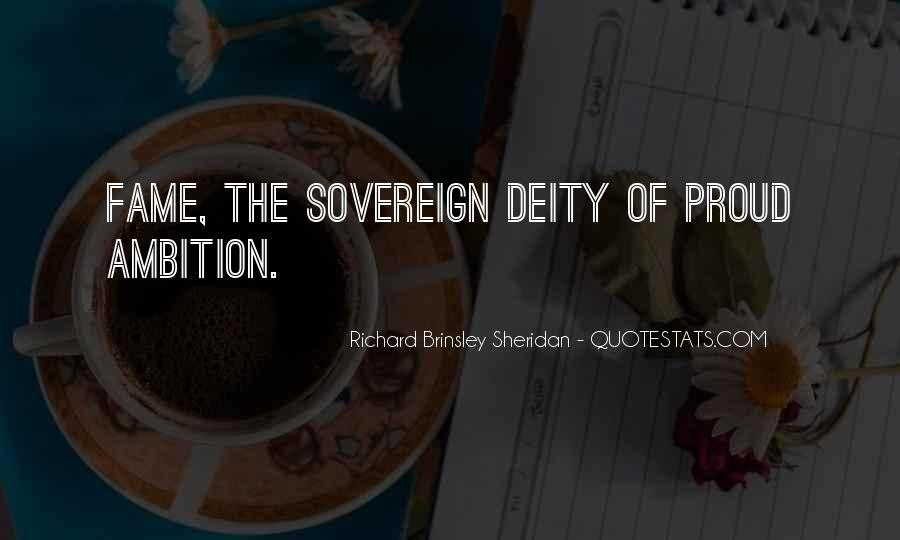Richard Brinsley Sheridan Quotes #593475