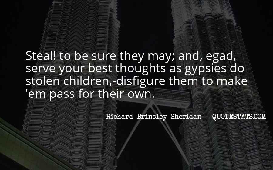 Richard Brinsley Sheridan Quotes #642565
