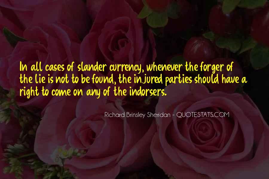 Richard Brinsley Sheridan Quotes #67436
