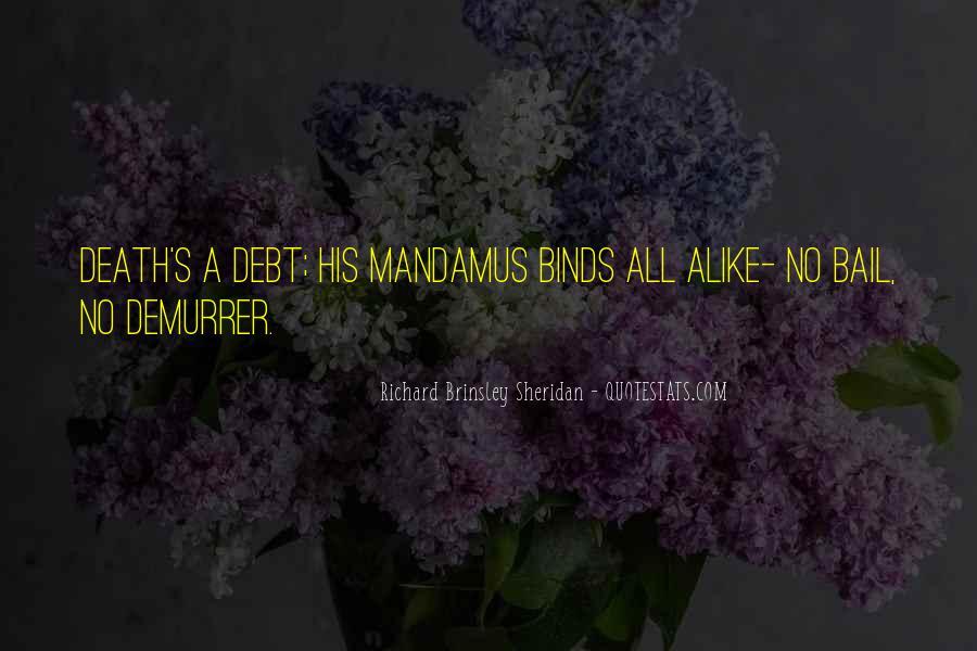 Richard Brinsley Sheridan Quotes #699188