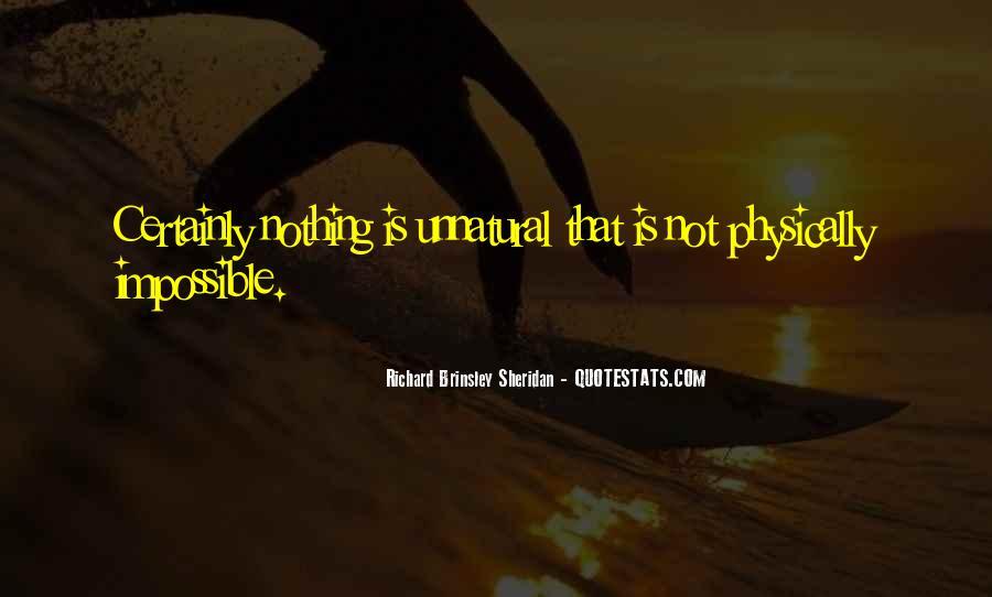 Richard Brinsley Sheridan Quotes #715578