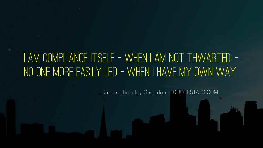 Richard Brinsley Sheridan Quotes #71778