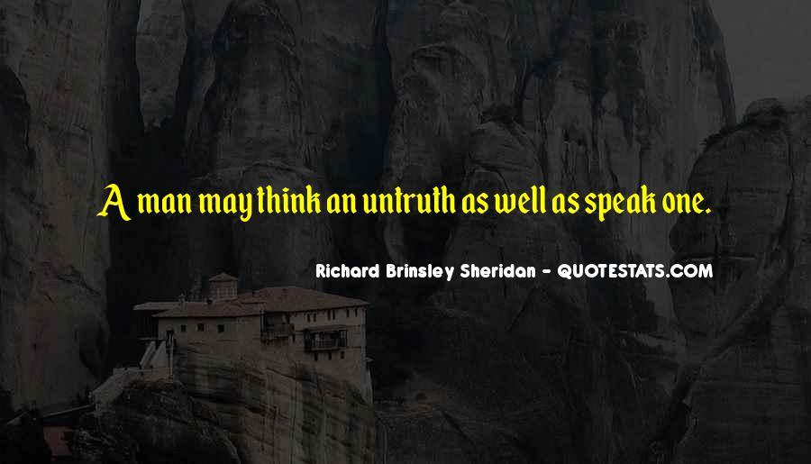 Richard Brinsley Sheridan Quotes #838176