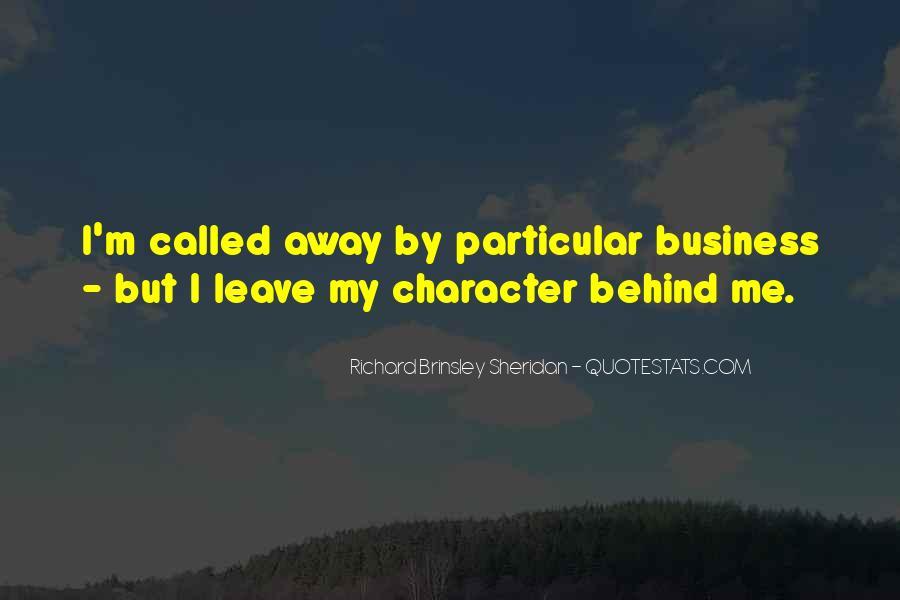 Richard Brinsley Sheridan Quotes #930644