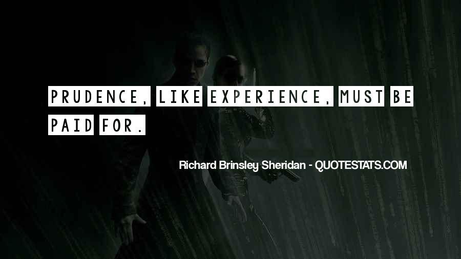 Richard Brinsley Sheridan Quotes #956089
