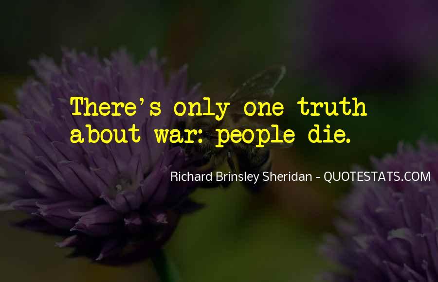 Richard Brinsley Sheridan Quotes #968998