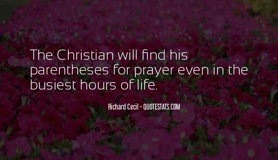 Richard Cecil Quotes #1024876