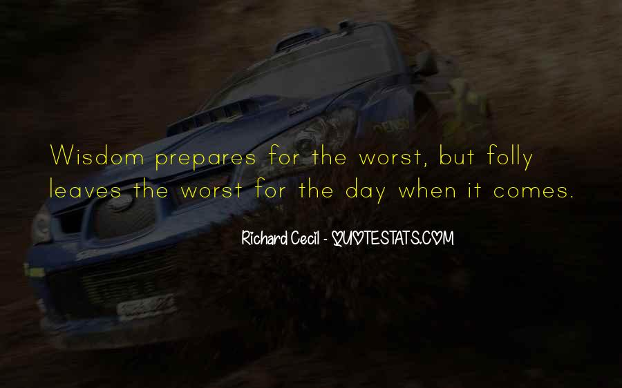 Richard Cecil Quotes #1212959