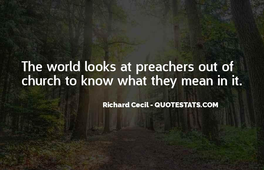 Richard Cecil Quotes #1279672