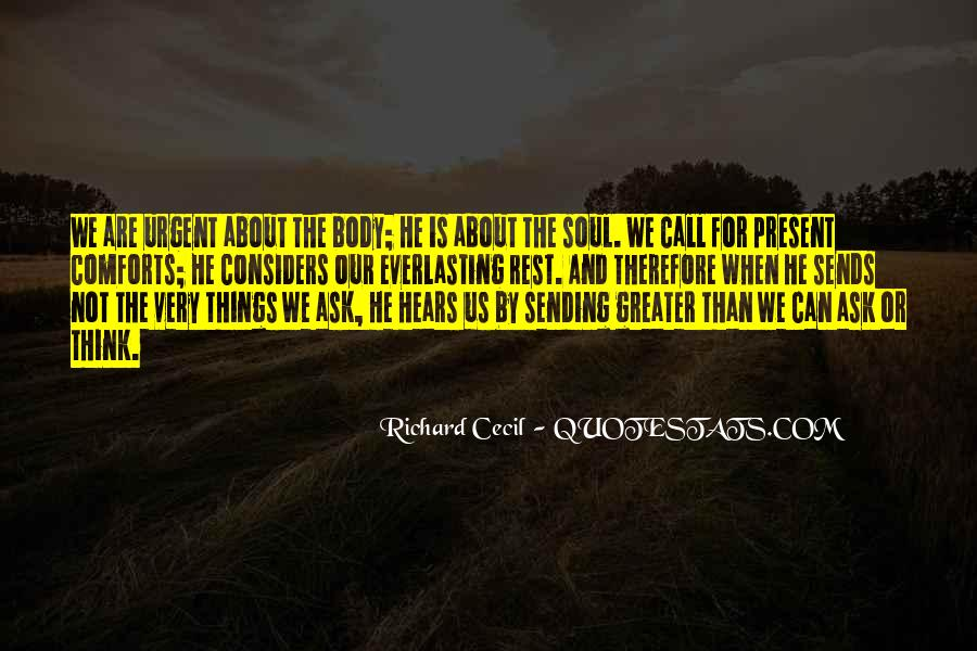 Richard Cecil Quotes #1309637