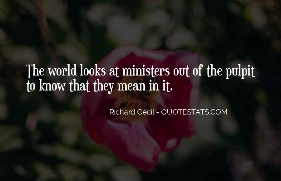 Richard Cecil Quotes #189800