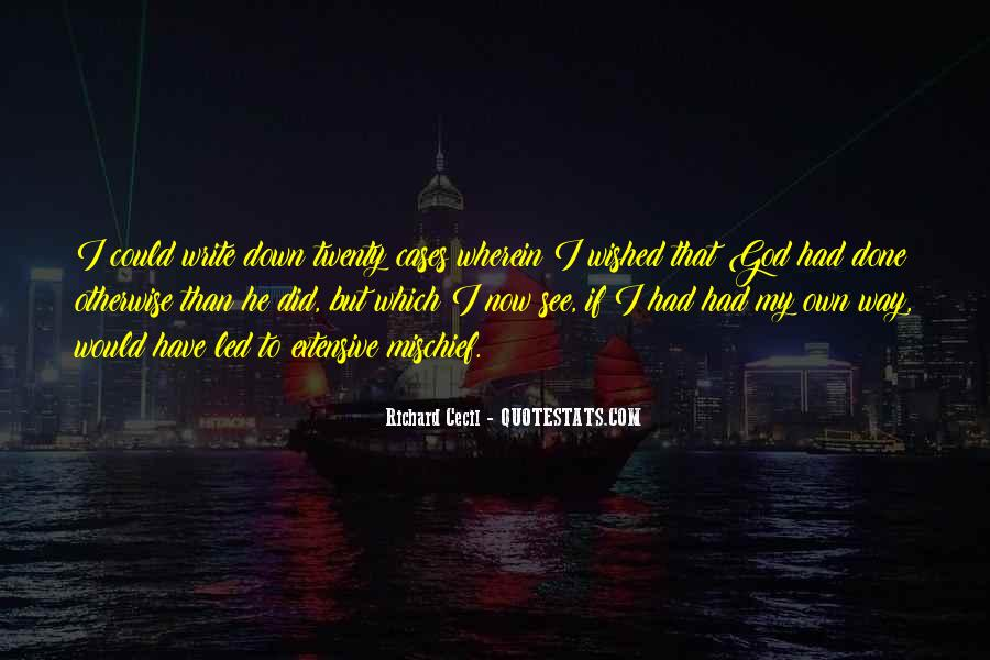 Richard Cecil Quotes #404941